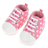 Baby Shoes Dot Toddler Shoes For Kids Girls Boy Soft Sole Sneaker Prewalker Footwear Shoes For Babies borns Infant