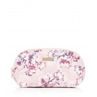 Lily Floral Cosmetic Case