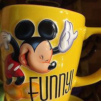 disney parks 3d mickey personality smart ceramic coffee mug new