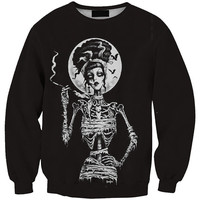 Image Print Long Sleeve Sweatshirt