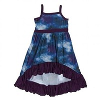 Kickee Pants Print Hi Lo Maxi Dress Astronomy & Chemistry Collection