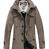 The Perris Overcoat Khaki