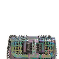 Christian Louboutin 'Sweet Charity' Spiked Calfskin Shoulder Bag | Nordstrom