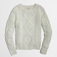 FACTORY CABLE KNIT SWEATER