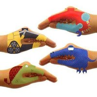 TEMPORARY HAND TATTOO SETS - ROBOT & DINO | Dinosaur, Robot, Stickers, Kids, Toys, Games | UncommonGoods