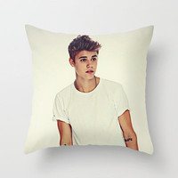 Justin Bieber Believe Throw Pillow by Toni Miller | Society6