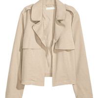Short Trench Jacket - from H&M