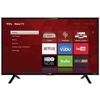 "TCL 32"" Class HD (720P) Roku Smart LED TV (32S301)"