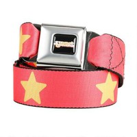 Steven Universe Yellow Star Seatbelt Belt | CartoonNetworkShop.com