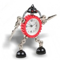 Robot Alarm Clock for Gift by Julyjoy