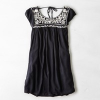 AEO TIE BACK SHIFT DRESS