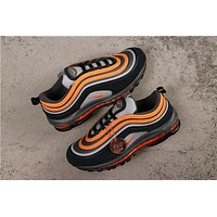 Nike Air Max 97 Wolf Grey/ Orange Sneakers
