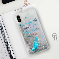 Disney Glitter Phone Case Clear Case For iPhone 8 iPhone 8 Plus - iPhone X - iPhone 7 Plus - iPhone 6 - iPhone 6S - iPhone SE  iPhone 5