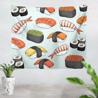 Sushi Tapestry