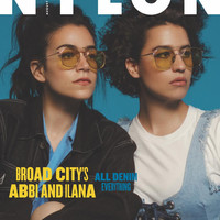 Abbi and Ilana, August 2017 Subscriber Cover
