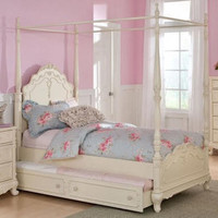 Melody Twin Size Canopy Bed