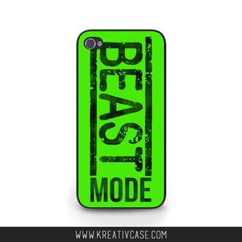 CANADA DAY Sale Samsung Galaxy s4, iPhone Phone Case, Beast Mode, #BEAST, Samsung Galaxy s5 Graphic Phone Cover Cool Phone Case k316