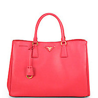 Prada - Saffiano Lux Tote - Saks Fifth Avenue Mobile