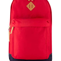 RED OVERSIZED BACKPACK - New In