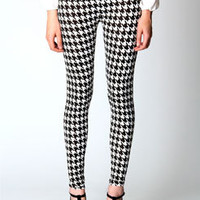 Krissy Animal Dogtooth Leggings