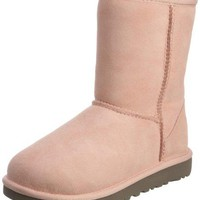 UGG Australia Kids Classic Boots - Baby Pink Size 4  UGGboots with heel