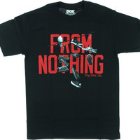 DGK On A Wire Tee Large Black