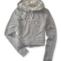 Cropped Popover Hoodie