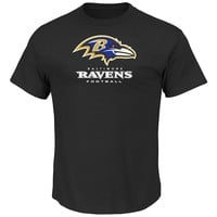 Majestic Baltimore Ravens Critical Victory VIII Tee