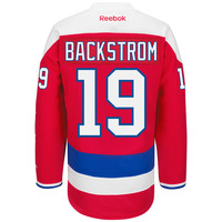 Niklas Backstrom Washington Capitals Reebok 2015-16 Premier Replica Alternate NHL Hockey Jersey