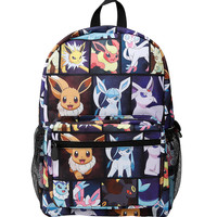 Pokemon Eevee Evolution Characters Backpack