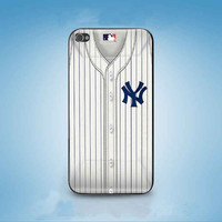 New York Yankees uniform customized for iphone 4/4s/5/5s/5c ,samsung galaxy s3/s4/s5 and ipod 4/5 cases