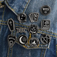 Witches do it better witch ouija spells black moon pins Badges Brooches Lapel pin Enamel pin Backpack Bag Accessories Witch pin