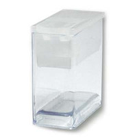1 Inch Flip Top Tube Bead Craft Storage, 20 Tubes, Clear