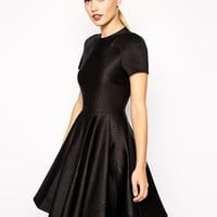 Ted Baker Dress in Embossed Neoprene