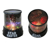 Colourful stars cosmos laser projector romantic gift