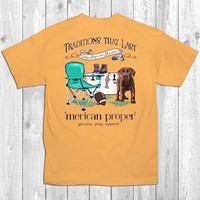 SALE Merican Proper Traditions Football Dog Ties Cooler Unisex T-Shirt