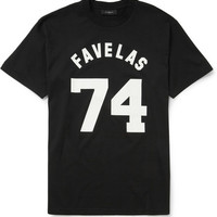 PRODUCT - Givenchy - Printed Cotton-Jersey T-shirt - 399227   MR PORTER