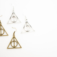 Deathly Hallows - Harry Potter earrings