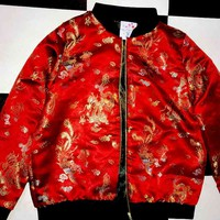 SWEET LORD O'MIGHTY! GONG LI BOMBER JACKET
