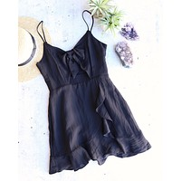 Cotton Candy LA - Lucy Dress in Black