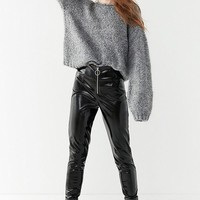 UO Calina Cable Knit Sleeve Sweater | Urban Outfitters