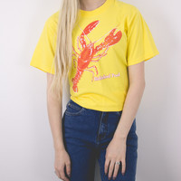 Vintage Lobster Biddeford Pool T Shirt