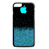 Mint Sparkle iPhone 6 Plus case