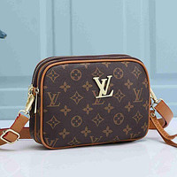 LV Louis Vuitton Women Fashion Leather Crossbody Satchel Shoulder Bag