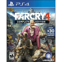 Far Cry 4 Complete Edition PS4 Video Game