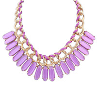 Shiny Stylish New Arrival Gift Jewelry Fashion Strong Character Water Droplets Necklace [4918844484]