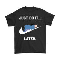 PEAP Just Do It Later Eeyore Winnie The Pooh Shirts