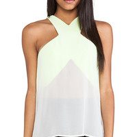 Cameo Paper Thin Top in Yellow