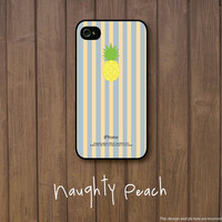 iPhone 5 Case, iPhone 5S Case - Pineapple stripes /  iPhone 5S Case, iPhone 5S Cover, Cover for iPhone 5S, Case for iPhone 5S