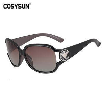 2014 Luxury UV400 Polarized Sunglasses Women Fashion Summer Sun Glasses Women's Vintage Sunglass Outside UV400 Eyeglasses